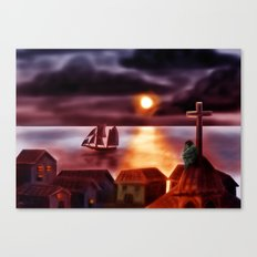 A New World Canvas Print