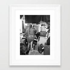 In the flesh Framed Art Print