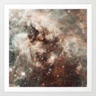 Cloud Galaxy Art Print