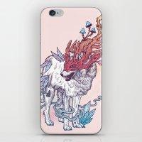 Spirit Animal - Wolf iPhone & iPod Skin