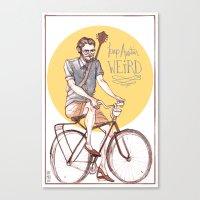 Keep Austin Weird By Kat… Canvas Print
