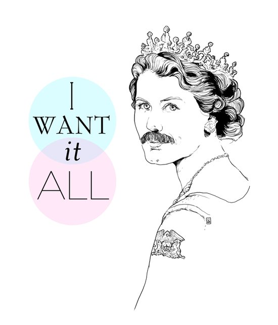 I Want It All Art Print