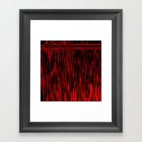 Bloody Camera Framed Art Print