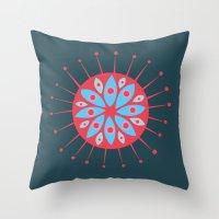 Radiolarian 7 Throw Pillow