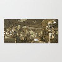 Cabaret Canvas Print