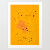 Art Print featuring He Is Dealing Them Off 1 by R,oh