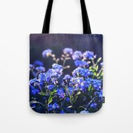 Forget-me-not-flower Tote Bag