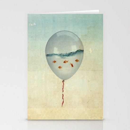 balloon fish Stationery Card