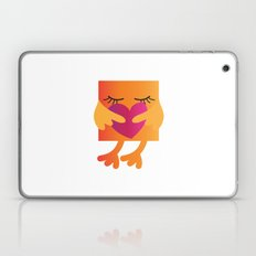 Pixel Birds - Hug Laptop & iPad Skin