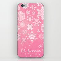 Let It Snow - Let It Sno… iPhone & iPod Skin
