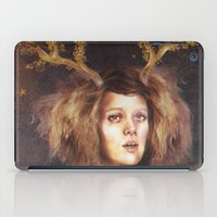 The Golden Antlers iPad Case
