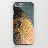 Where I Am (Vintage Glob… iPhone 6 Slim Case