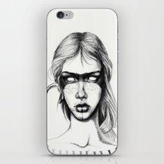 Nocturnal Warrior Sketch iPhone & iPod Skin