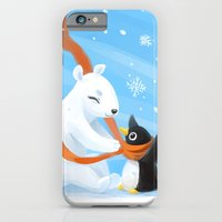 iPhone & iPod Case featuring Uncle Bear by Freeminds