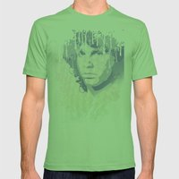 The Lizard King Mens Fitted Tee Grass SMALL