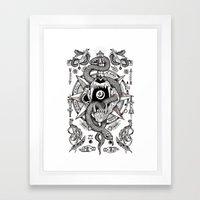 Ad Mortumn Framed Art Print