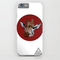 Wild Rectangular Giraffe iPhone 6 Slim Case