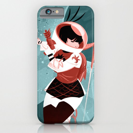 Kickass Annie iPhone & iPod Case