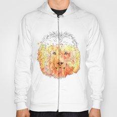 Watercolor Lion Hoody