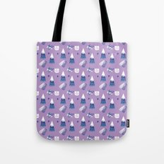 Cat in the Woods Tote Bag