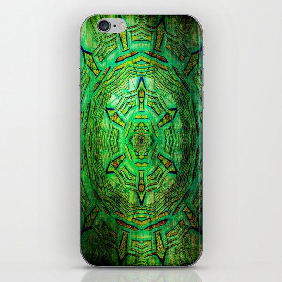 Mandala Pattern and Texture iPhone & iPod Skin