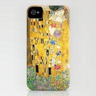 Gustav Klimt The Kiss iPhone (4, 4s) Slim Case