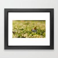 Sunset Cuppa Framed Art Print