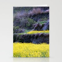Rape Flowers 2 Stationery Cards