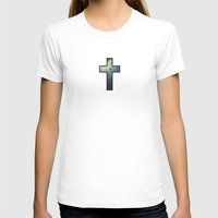 Slick Womens Fitted Tee White SMALL