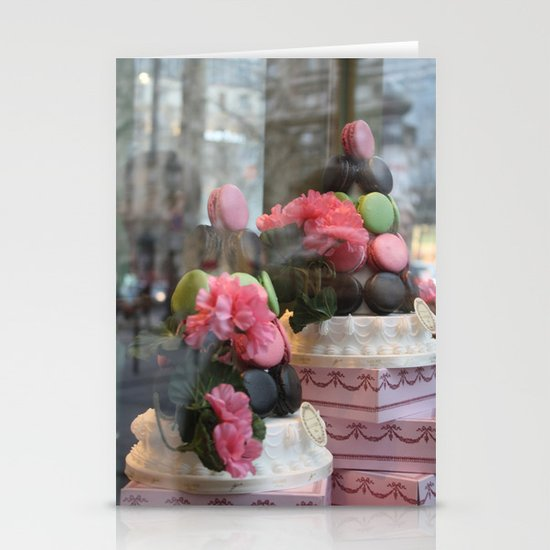 Window Shopping Stationery Card
