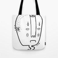 old head Tote Bag