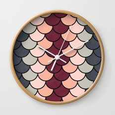 Tea Tones Wall Clock