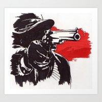 Mr Marston Art Print