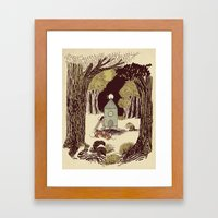 In the Clearing Framed Art Print