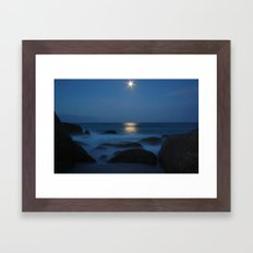 Bay Of Fire Framed Art Print