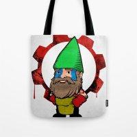 Gnome de Guerre Tote Bag