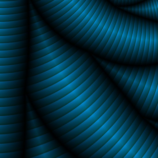 Blue Vibe Canvas Print