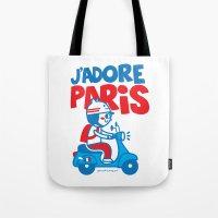 J´Adore Paris Tote Bag