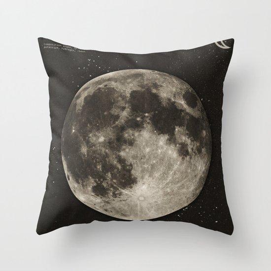 The Moon Throw Pillow