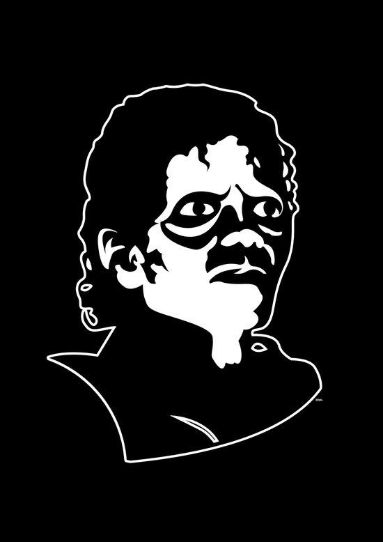 Michael Jackson's Thriller for Halloween Art Print