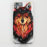 Fire Wolf iPhone 6 Slim Case