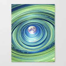 Moon Lights Canvas Print