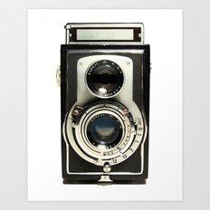 Vintage Camera Art Print