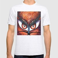 Emotional Eyes Mens Fitted Tee Ash Grey SMALL