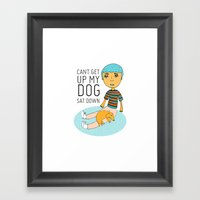 Click To Zoom  Can't Ge… Framed Art Print