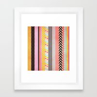 Washi Tape Framed Art Print