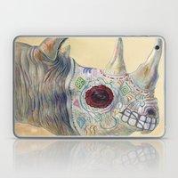 Day of the Dead Rhino Laptop & iPad Skin