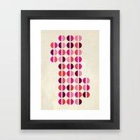 halfsies II Framed Art Print
