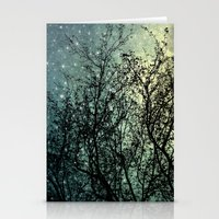 Starry Sky Stationery Cards