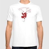 Rest My Fear Mens Fitted Tee White SMALL